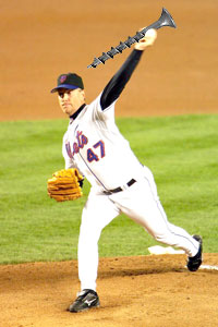 Tom Glavine screwing the Mets