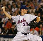 John Maine pitching