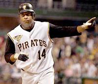Jose Castillo of the Pirates