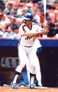 Keith Hernandez hitting for the New York Mets