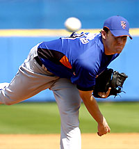Philip Humber fires a pitch