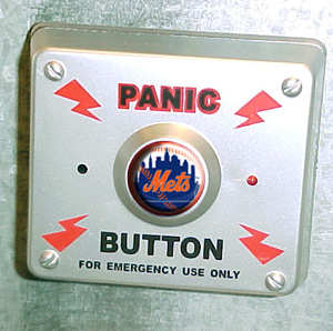 New York Mets Panic Button