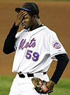 Mets pitcher Guillermo Mota