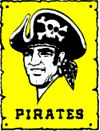 Pittsburgh Pirates baseball logo (old school)