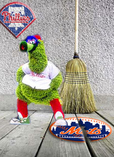 Phillies Sweep Mets