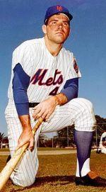 Ron Swoboda of the New York Mets