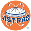 Houston Astros baseball old Astrodome logo