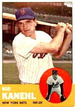 Mets Hot Rod Kanehl baseball card