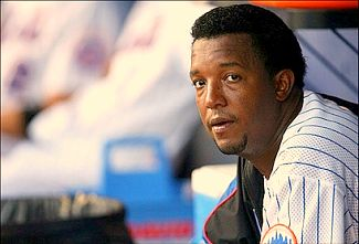 Pedro Martinez awaits the call