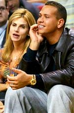 Alex Rodriguez with wife Cynthia