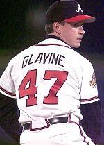 Tom Glavine as an Atlanta Brave