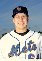 Mike Carp of the Binghamton Mets