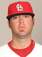 Pitcher Andy Cavazos while with the St. Louis Cardinals