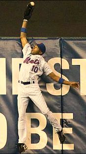 Endy Chavez miracle catch in 2006 NLCS
