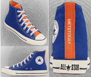Converse All Star Chuck Taylor MetsToday branded sneakers