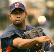 Andy Marte of the Indians
