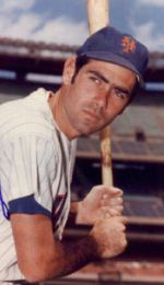 Art Shamsky with the New York Mets
