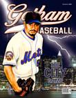 Johan Santana Gotham Baseball Cover