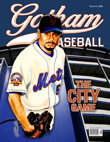 Johan Santana third option Gotham Baseball cover
