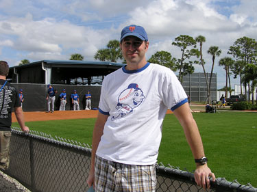 Joe Janish at Tradition Field
