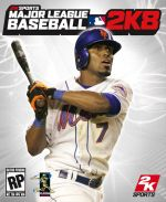 Jose Reyes on cover of 2k8 sports MLB baseball video game