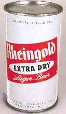 Rheingold beer can