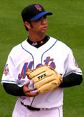 Nelson Figueroa of the New York Mets