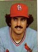Keith Hernandez with the St. Louis Cardinals