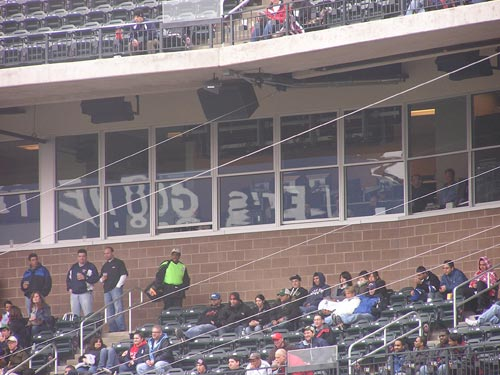 press box and broadcast booths at citi field