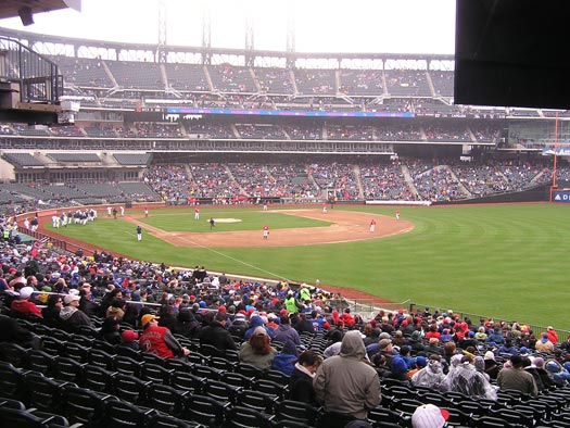 citi field view from right field stands