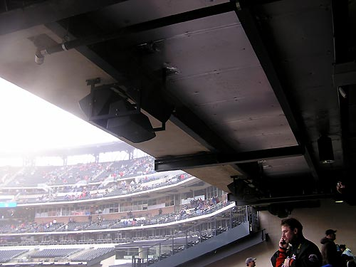 Citi Field speakers