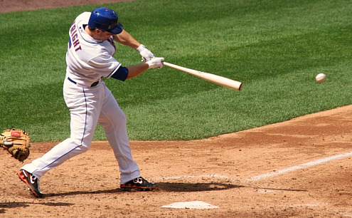 Photo of David Wright by MetsToday reader Gary Sparber