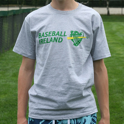 Irish baseball team t-shirt