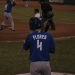 ...Wilmer Flores, now at second.