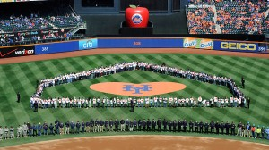 In addition to a great ballgame, the Mets honored the heroes of Superstorm Sandy.