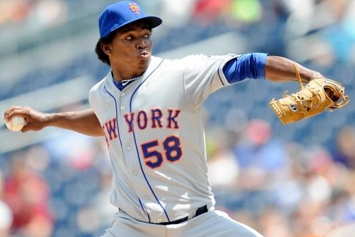 Mejia started over again in Washington.