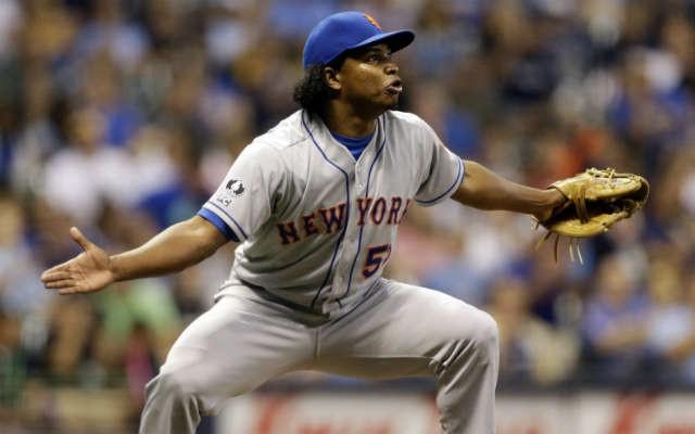 New York Mets pitcher Jenrry Mejia